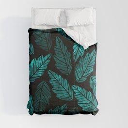 Green Leaves Comforters