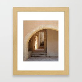 Rustic Architecture  Framed Art Print