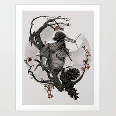 ÆFTERA YULE Art Print