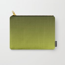 Olive Ombre. Carry-All Pouch