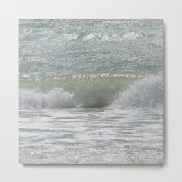 Loving the Waves number 3 Metal Print