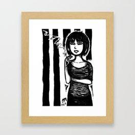 Beat Chick Framed Art Print