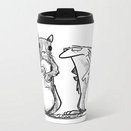 Identity of self Metal Travel Mug