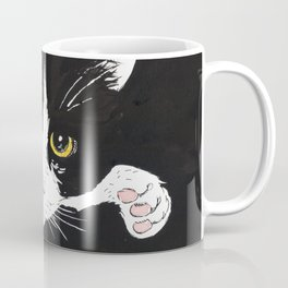 Black and white cat Coffee Mug
