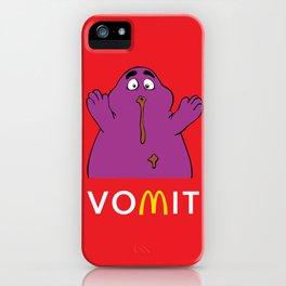 VOMIT Grimace iPhone Case