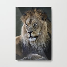 In the Jungle, the Mighty Jungle Metal Print