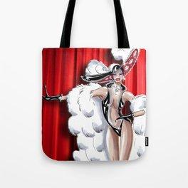 Giddy Up Showgirl Tote Bag
