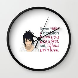 Sad Quotes Wall Clock