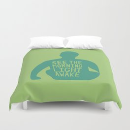 Stop Wait Sit - Everything In Colour Duvet Cover