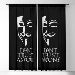 Don't Trust Anyone Blackout Curtain