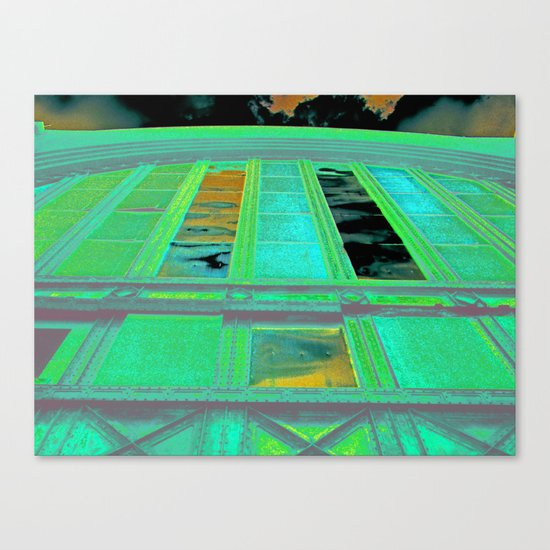 Buffalo Central Terminal Canvas Print