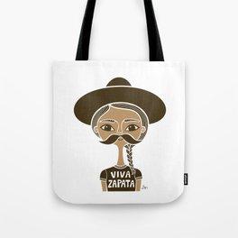 Viva Zapata - White Tote Bag
