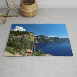 Crater Lake  and Lavacliffs Rug