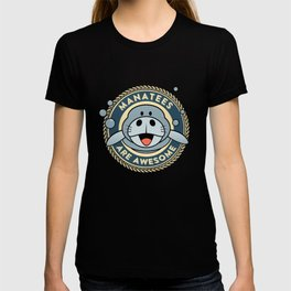 Manatees Are Awesome Funny TShirt T-shirt