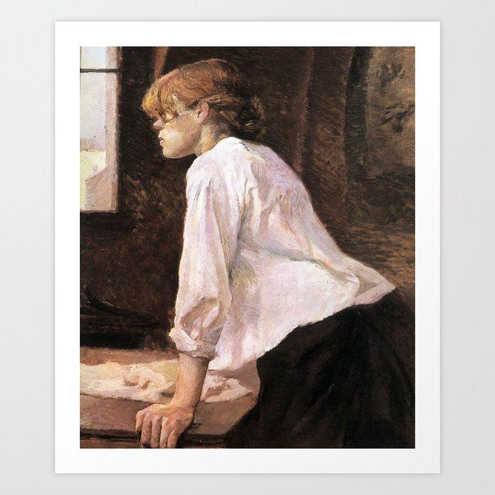The Laundress by HT-L Kunstdrucke