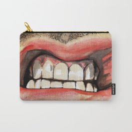 Gritted Teeth Carry-All Pouch
