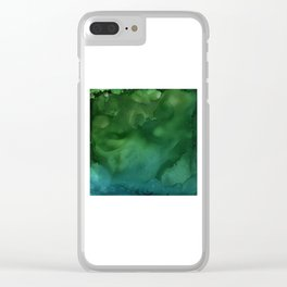 In the Deep End Clear iPhone Case