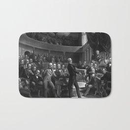Henry Clay Speaking In The Senate Bath Mat