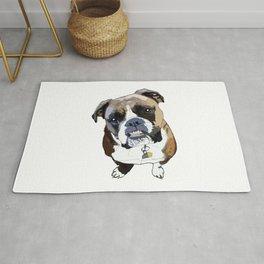 Boxer Dog Rug