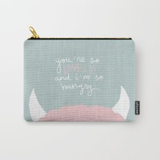 You're so lovely and I'm so hungry Carry-All Pouch