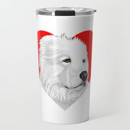 Great Pyrenees Travel Mug
