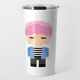 Pixel BTS Park Jimin - Spring Day (Bound) Travel Mug