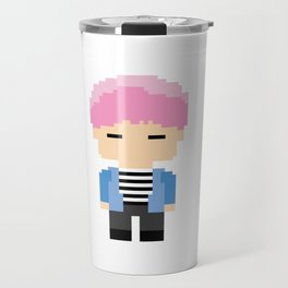 Pixel BTS Park Jimin - Spring Day (Bound) Travel Mug