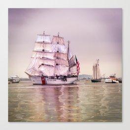 Tall Ships in Boston -USCG Canvas Print