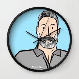 Beard Boy: Greg Wall Clock