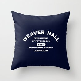 Weaver Hall Throw Pillow
