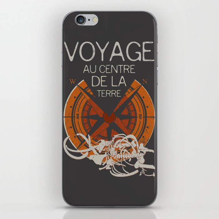 Books Collection: Jules Verne iPhone Skin