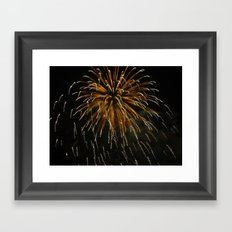 Fireworks Series 2 Framed Art Print