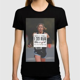 Run Like A Girl Lady Boss Runner Queen Princess T-shirt