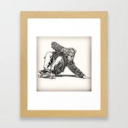 Jay Adams Framed Art Print