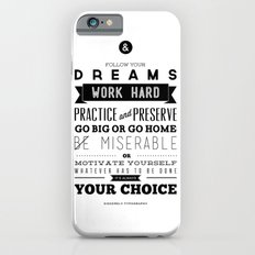 Sincerely Typography iPhone 6s Slim Case