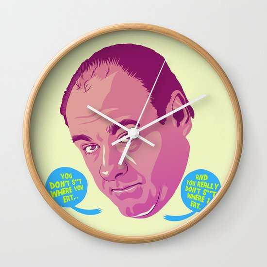 Tony Soprano Wall Clock