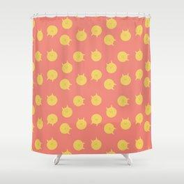 Armin futon pattern Shower Curtain