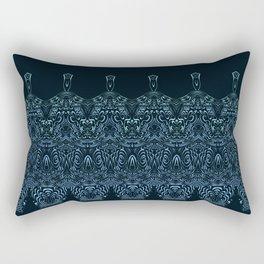 flowing lines pattern 1 Rectangular Pillow