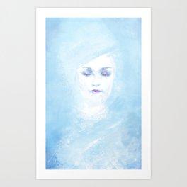 Hail to the winter Art Print
