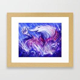 Star Collector Framed Art Print