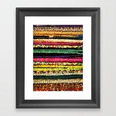 More Indian colors Framed Art Print