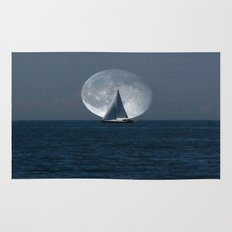 Sailing with a Romance Moon Rug