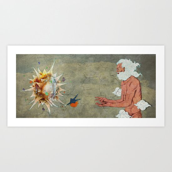 Rock, Paper, Scissors Art Print
