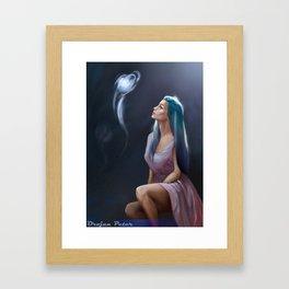 MagicBall Framed Art Print