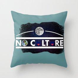 No Culture Throw Pillow