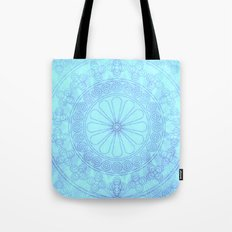 Mandala blue Tote Bag