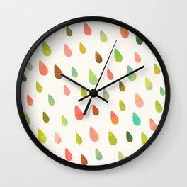 OPAL DROPS Wall Clock