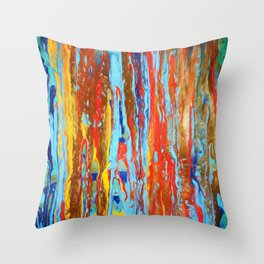Abstract Composition 382 Throw Pillow