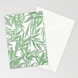 leave pattern Stationery Cards