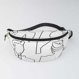 Jazz Musicians (White) Fanny Pack